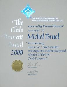 ieee cledo brunetti award 2008